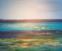 The Atlantic Ocean - 80 by 60 cm